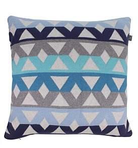 D Lux Pavillion Blue Cushion