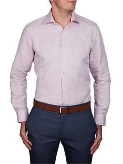 Geoffrey Beene Arrecife Cotton/Linen Slim Fit Shirt