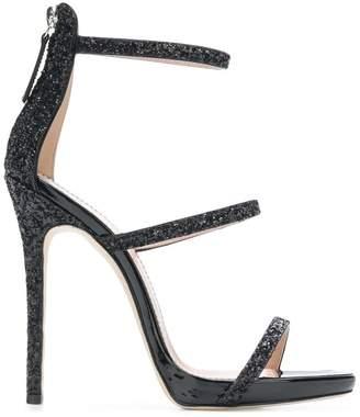 Giuseppe Zanotti Design glitter stiletto sandals