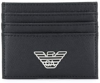 Emporio Armani logo cardholder