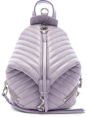 Rebecca Minkoff Quilted Mini Julian Backpack