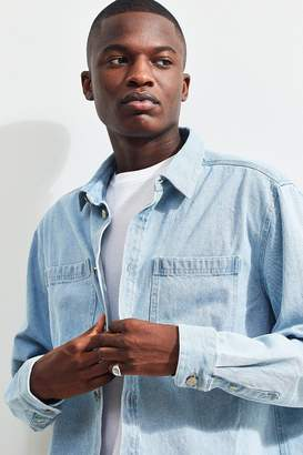Urban Outfitters BDG Long Sleeve Denim Button-Down Shirt