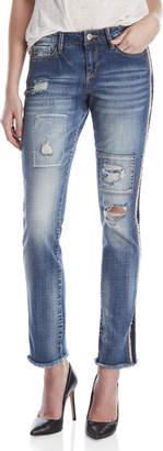 Jessica Simpson Arrow Straight Wide Leg Jeans