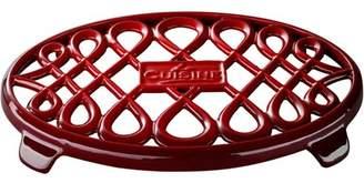 """La Cuisine LC 8679 10"""" x 7"""" Oval Cast Iron Trivet"""