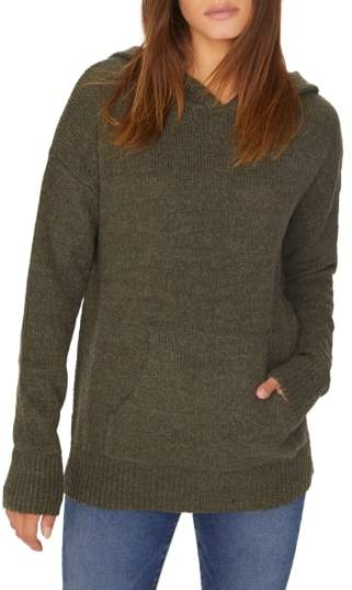 Sanctuary Sunday Morning Wool Blend Sweater Hoodie