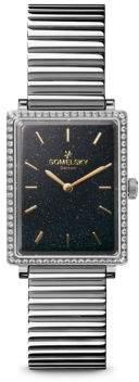 Gomelsky Shirley Fromer Diamond & Stainless Steel Bracelet Watch