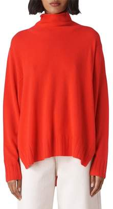 Whistles Funnel Neck Cashmere Sweater