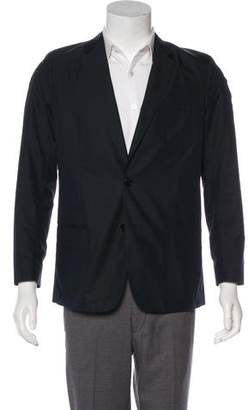 Christian Dior 2016 Woven Two-Button Blazer
