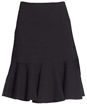 Akris Punto Women's Elements Jersey Flippy Skirt