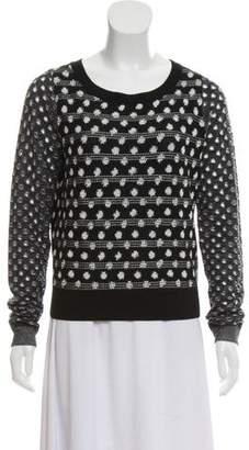 Diane von Furstenberg Wool Crew Neck Sweater