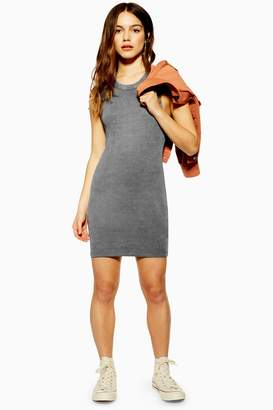 Topshop PETITE Washed Racer Bodycon Dress