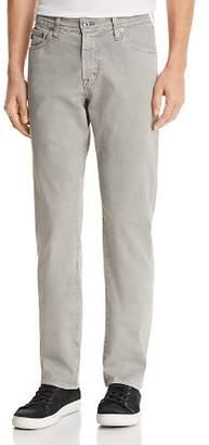 AG Jeans Graduate Slim Straight Fit Jeans in Sulfur Platinum