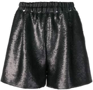 Styland sequin short shorts