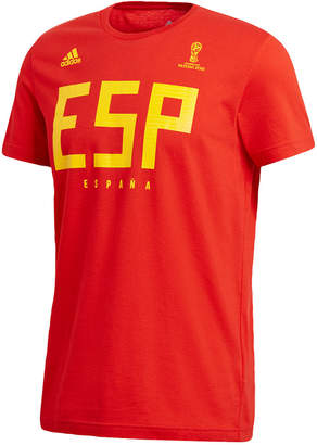 adidas Men's Esp Spain Graphic Soccer T-Shirt
