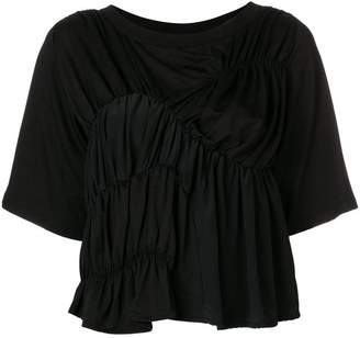 Carven gathered detail T-shirt