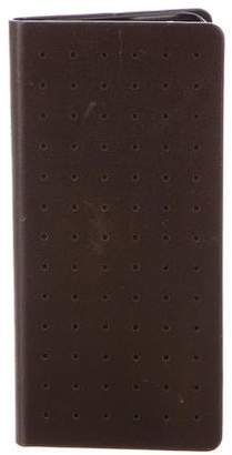 Jack Spade Perforated Leather iPhone Case