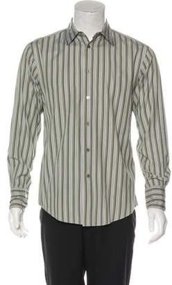 John Varvatos Striped Dress Shirt