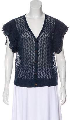 Ralph Lauren Short Sleeve Knit Cardigan