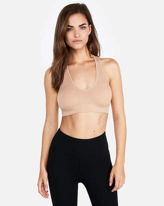 Express One Eleven Seamless Racerback Bra