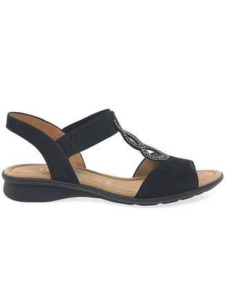 d0dcd7490 Giorgio Armani Gabor Merlin Womens Flat Sandals