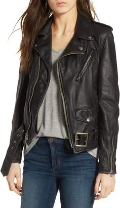 Schott NYC Boyfriend Leather Jacket