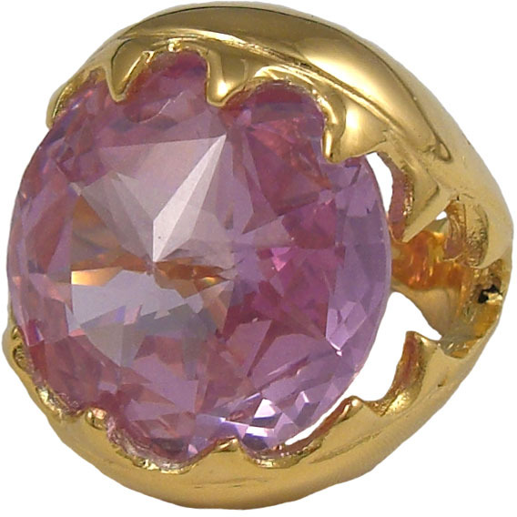 Devon Leigh Purple Cubic Zirconia Ring