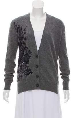 No.21 No. 21 Embellished Wool Cardigan
