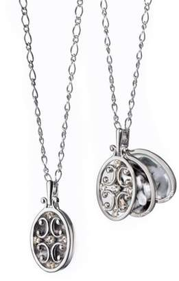 Monica Rich Kosann Scrollwork Locket Necklace