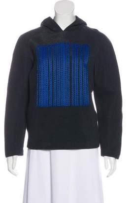 Alexander Wang Hooded Barcode Sweatshirt