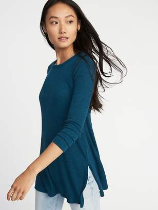 Old Navy Long & Lean Rib-Knit Tunic for Women