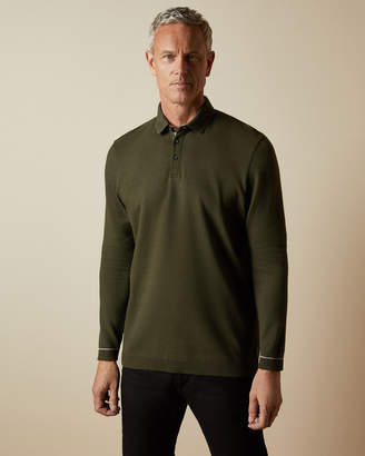 Ted Baker TERNTT Tall long sleeved polo shirt