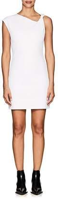 Helmut Lang Women's Twist-Shoulder Cotton Minidress