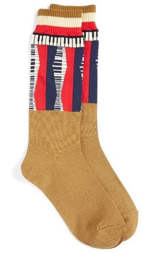 UndercoverWomen's Undercover Piano Colorblock Socks