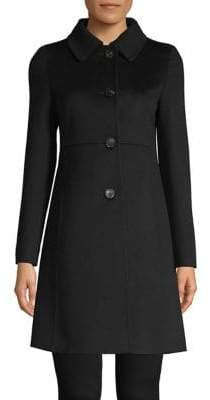 Max Mara Onde Wool Short Coat