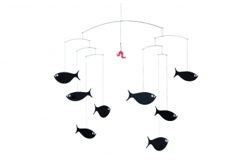Pin It Flensted Mobiles Shoal Of Fish