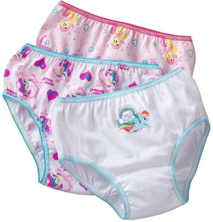 My Little Pony 3-pk. bikini panties - girls