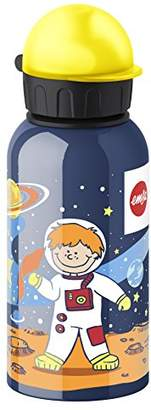 Emsa 514396 Kids drink flask, fruit acid resistant, BPA free, 400 ml, Astronaut