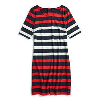 Tommy Hilfiger Adaptive Women's Bold Stripe Dress with Magnetic Buttons