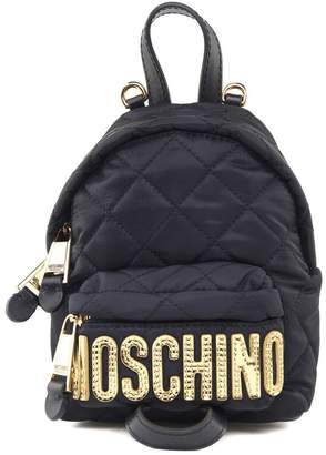 Moschino Quilted-sheel Mini Backpack
