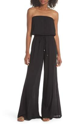Elan International Strapless Cover-Up Jumpsuit