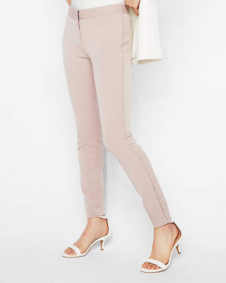 Express Mid Rise Pearl Ankle Leggings