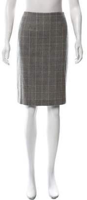 HUGO BOSS Boss by Wool Knee-Length Skirt