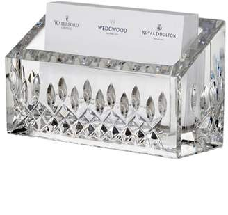 Waterford Lismore Lead Crystal Business Card Holder