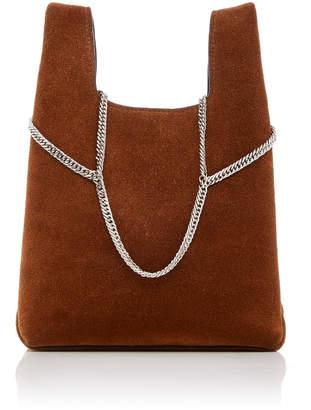 Hayward Chain Suede Mini Shopper Bag