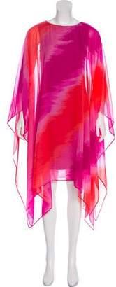 Michael Kors Silk Printed Dress w/ Tags