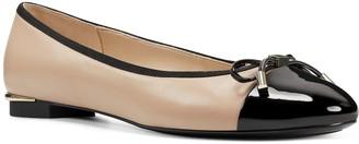Nine West Synthia Genuine Leather Women's Ballet Flats
