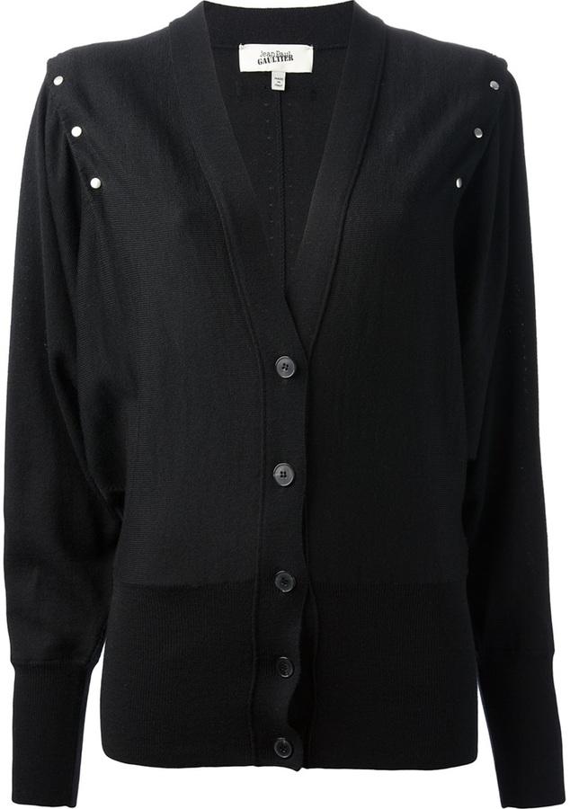 Jean Paul Gaultier v-neck cardigan