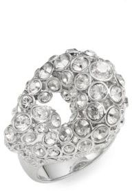 Rarely Swarovski Crystal Ring $220 thestylecure.com
