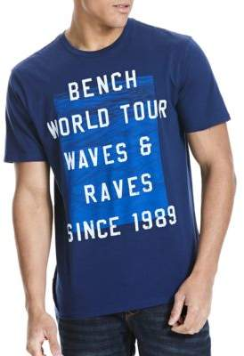 Bench Graphic Printed Cotton Tee