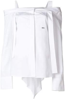 Off-White off shoulder blouse
